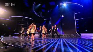 The Cast Of Glee - Don't Stop Believing - X Factor Semi Final (FULL HD)