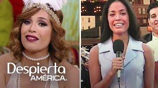Karla Martínez recordó su primer día en Despierta América