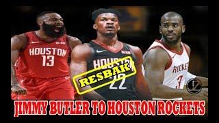 RESBAK ng ROCKETS | Jimmy BUTLER to HOUSTON ROCKETS | BUBUO din ng BIG 3