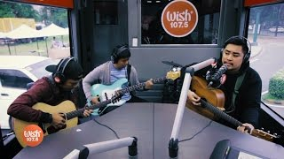 /december avenue performs dahan live on wish 1075 bus