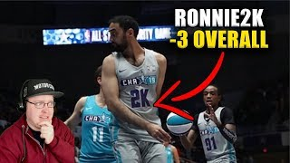 Reacting To Ronnie2K Low Lights And Top 10 Celebrity All Star Game Highlights