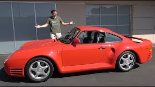 The Porsche 959 Is a $1.5 Million Automotive Icon