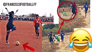 The most Incredible Moments Of African Street Football/ part 1