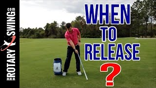 When To Release The Golf Club  | Simple Drill For PERFECT TIMING