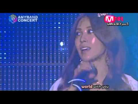 Xiah Junsu & BoA - A Whole New World LIVE [with lyrics]