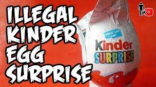 ILLEGAL KINDER EGG SURPRISE - Man Vs Youtube #11