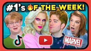 YouTubers React To 10 Things That Were #1 This Week (Spider-Man, Jeffree Star, Shane Dawson)