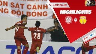TPHCM nhẹ nhàng vượt qua Nam Định, tiếp tục dẫn đầu Wake-up 247 V.League1 2019 | VPF Media
