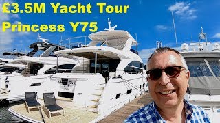£3.5M Yacht Tour : Princess Y75