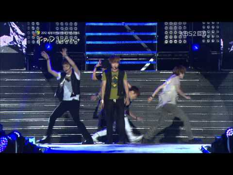 [HD] 120920 SHINee - Stranger @ KBS2 Jeju K-pop Nature+ Concert