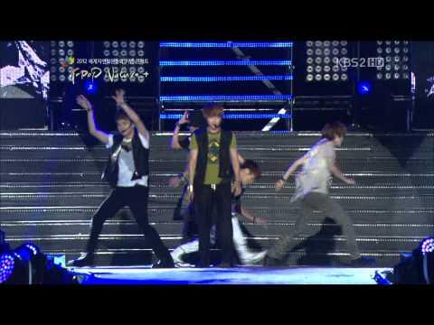 [HD] 120920 SHINee - Stranger @ KBS2 Jeju K-pop Nature+ Concert