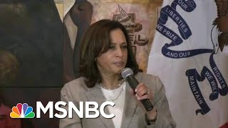 Kamala Harris 'Drops The Mic' On Trump: He Needs To Go Back To Where He Came From   Deadline   MSNBC