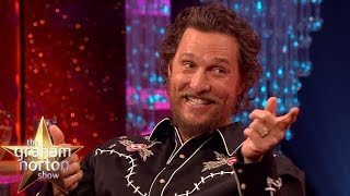 Matthew McConaughey's Dad Won a Motorbike in a Pissing Contest - The Graham Norton Show