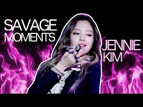 BLACKPINK JENNIE BEING SAVAGE Compilation