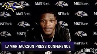 Lamar Jackson Breaks Down 33-16 Victory Over Houston Texans | Baltimore Ravens