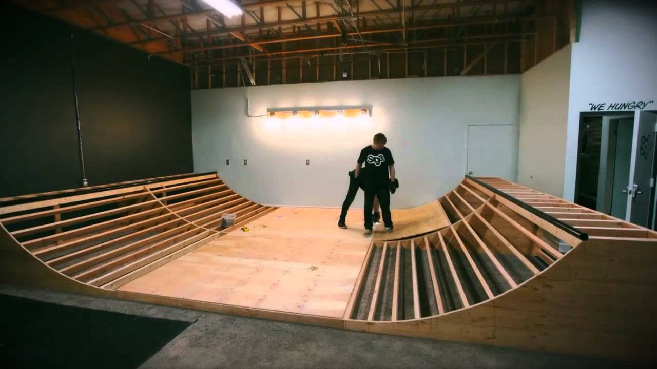 Building A Mini Ramp In 5 Minutes Youtube
