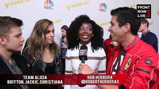 The Voice Season 14 Top 12   Team Alicia FIRST IMPRESSIONS Interview