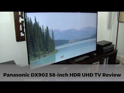 Panasonic DX902 TX-58DX902B 4K HDR UHD TV Review