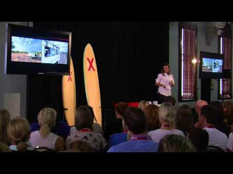What Does Hunger Look Like To You?: Lani Holmberg At TEDxManly - Smashpipe Nonprofit