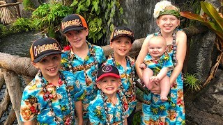 We caught 4 Fish!! Family Fun Pack at the Polynesian Cultural Center