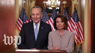 Schumer and Pelosi's full response to Trump's border address
