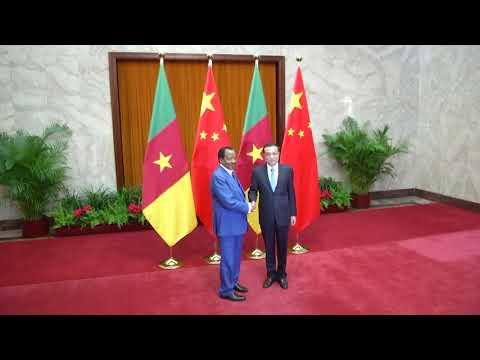 Les audiences de S.E. Paul BIYA en République Populaire de Chine - 23.03.2017