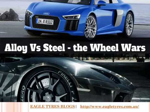 A video on Alloy Wheels vs Steel Wheels