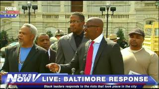 FNN: Geraldo Rivera Takes on Black Lawyers for Justice in Baltimore