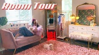 MY MAKEUP ROOM TOUR | 80s Glam Decor 🌿IAMKARENO