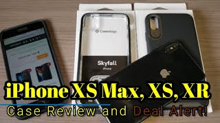 iPhone XS Max, XS, and XR Case Review and Deal Alert! Caseology Cases