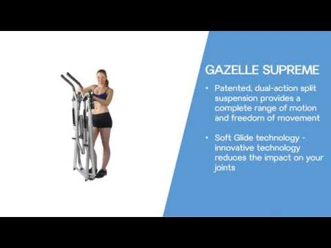 Gazelle Exercise Elliptical Machine