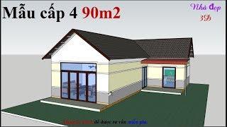 Mẫu 90m2 thiết kế tiết kiệm nhất cho chủ nhà ở Gia Lai   Simple house