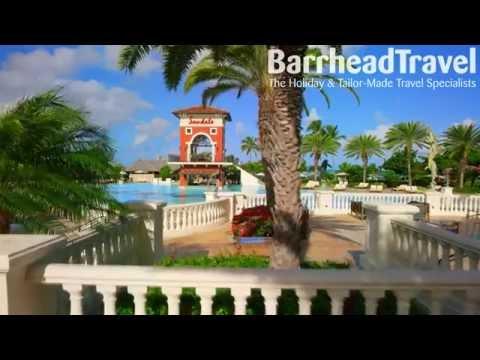 Sandals Grande Antigua Holidays 2017 / 2018 Drone Tour