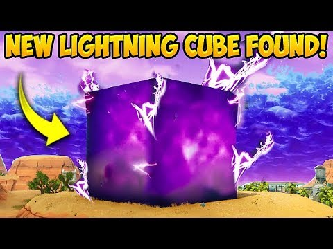 NEW *SEASON 6* LIGHTNING CUBE FOUND! - Fortnite Funny Fails and WTF Moments! #299