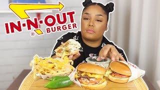 LATE NIGHT IN N OUT MUKBANG FEAT. SECRET MENU ITEMS