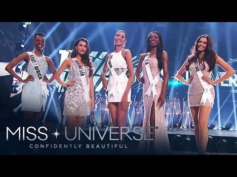 Top 20 Announcement with Opening Statement | Miss Universe 2019