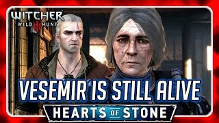 Witcher 3 🌟 Meet Vesemir's Lover while Vesemir is Still Alive 🌟 HEARTS OF STONE