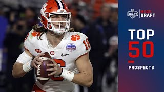 Top 50 NFL Prospects Heading Into the 2021 Draft