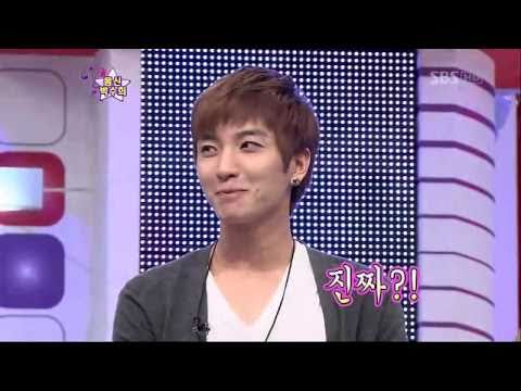 101002 - St4r K1ng [LeeTeuk Show His Abs muscles]