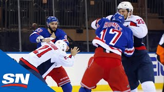 Mayhem At Madison Square Garden   NHL Fights Of The Week