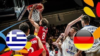LIVE 🔴 - Greece v Germany - FIBA U20 European Championship 2018