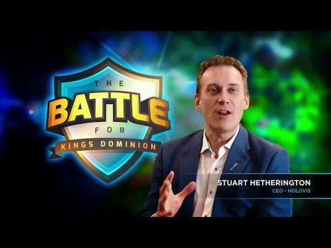"""Step into a brand new virtual world at Kings Dominion as the park debuts an interactive, competitive gaming experience – """"The Battle for Kings Dominion."""""""