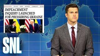 Weekend Update: Democrats Launch Impeachment Inquiry Against Trump - SNL