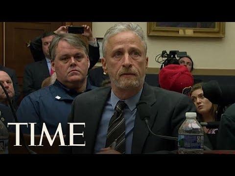 Jon Stewart Blasts Congress Over 9/11 Victims Fund | TIME