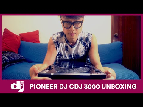 PIONEER DJ CDJ 3000 UNBOXING - DJ YIN