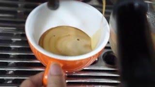 Video quay chậm sử dụng máy pha breville 870xl làm latte art