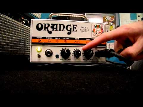 Orange Micro Terror 20W Guitar Amplifier Head