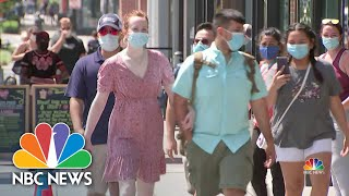 Coronavirus: New Research Reveals Which Face Masks Work Best | NBC Nightly News