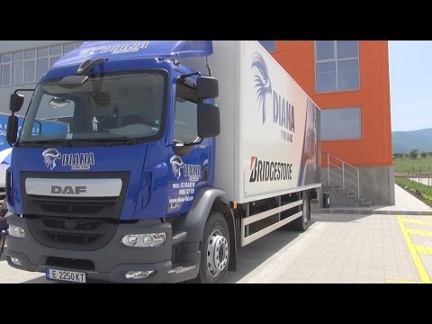 DAF LF 280 Euro 6 Lorry Truck (2016) Exterior and Interior in 3D