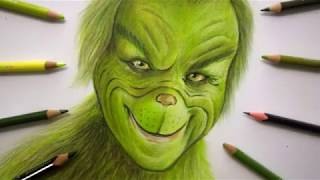 Drawing The Grinch
